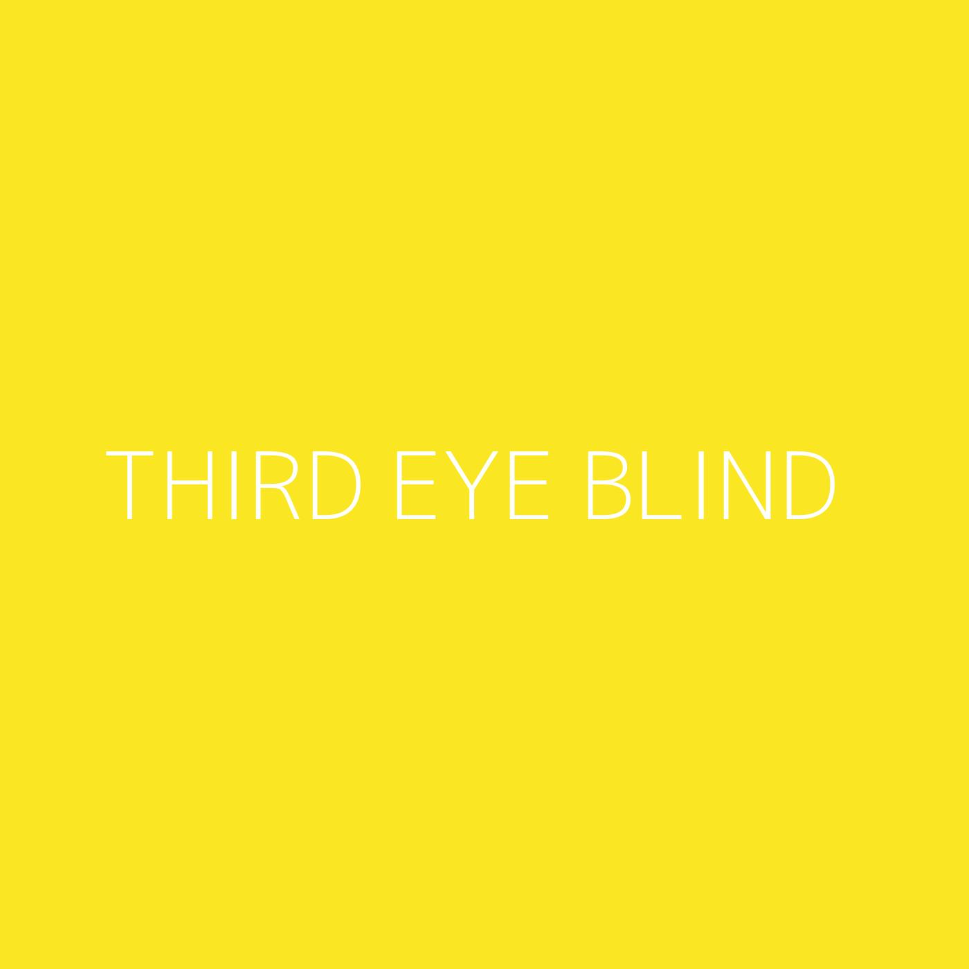 Third Eye Blind Playlist Artwork