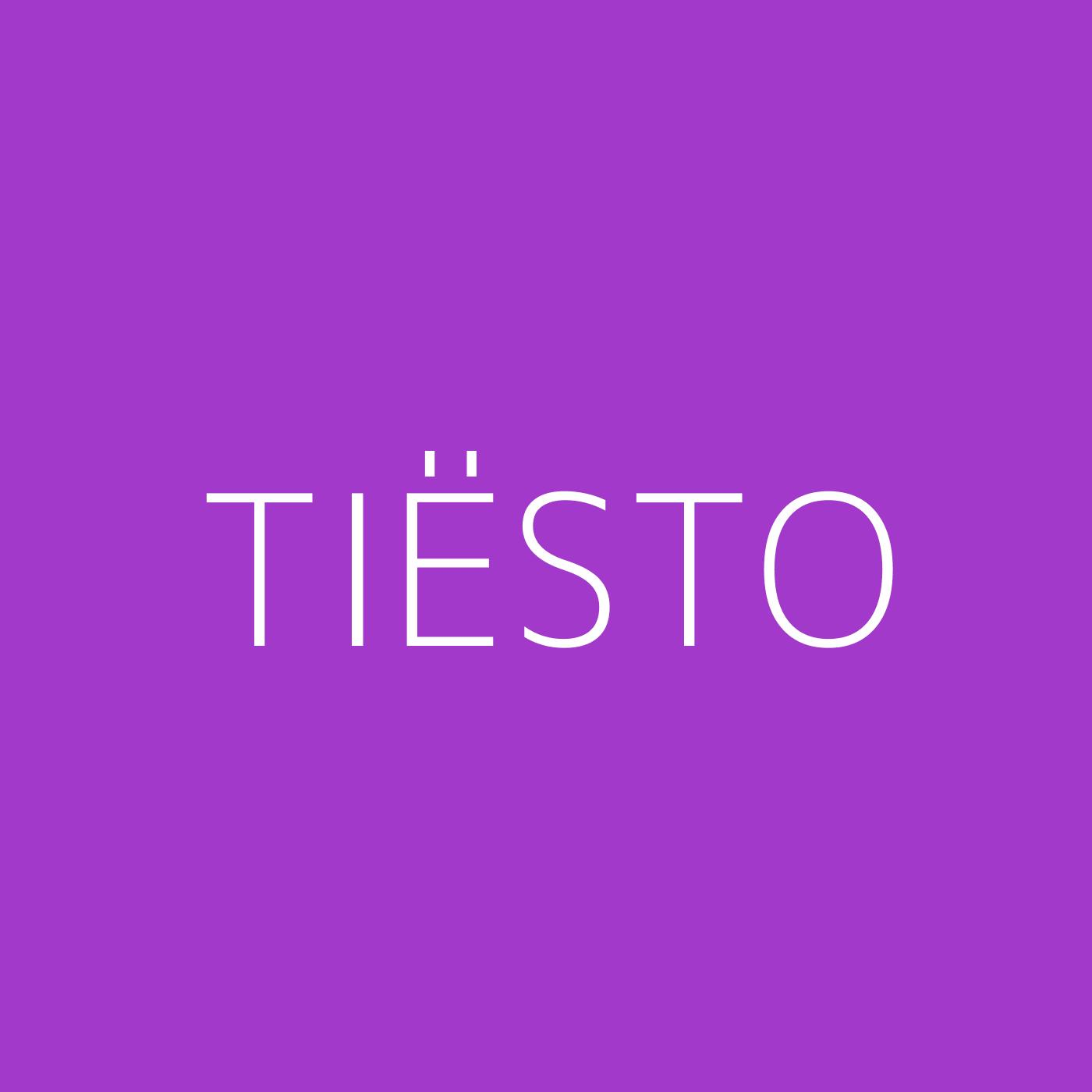 Tiësto Playlist Artwork