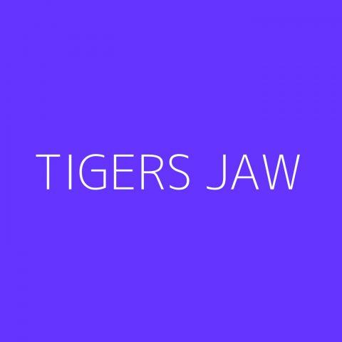Tigers Jaw Playlist – Most Popular