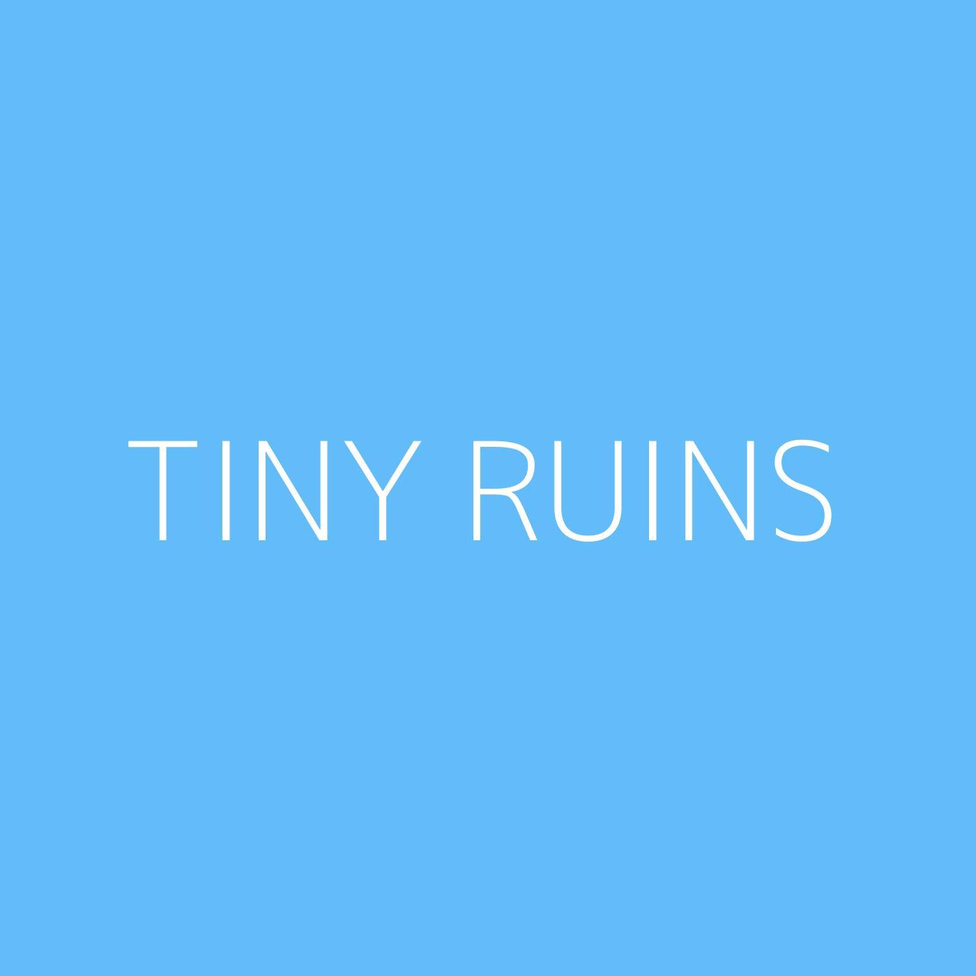 Tiny Ruins Playlist Artwork