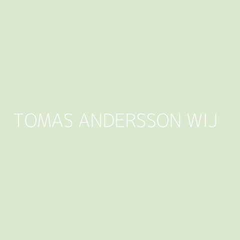 Tomas Andersson Wij Playlist – Most Popular