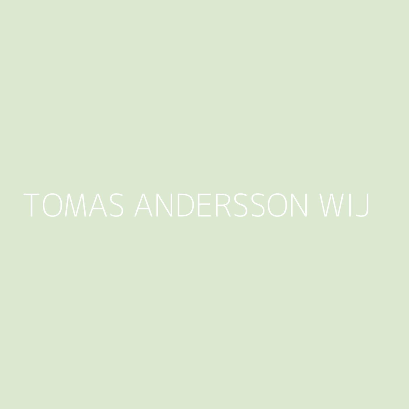Tomas Andersson Wij Playlist Artwork