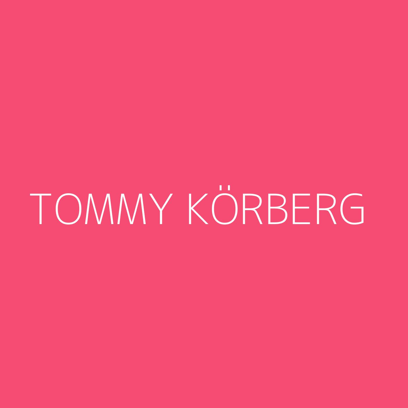 Tommy Körberg Playlist Artwork