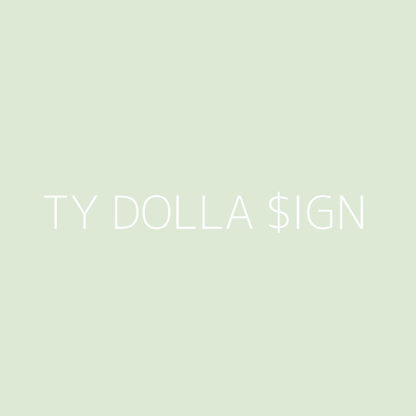 Ty Dolla $ign Playlist Artwork