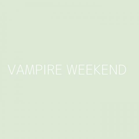 Vampire Weekend Playlist – Most Popular