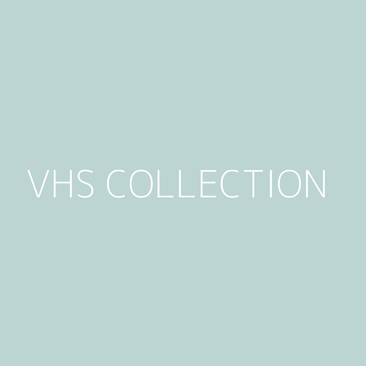 VHS Collection Playlist Artwork