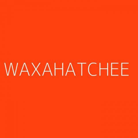 Waxahatchee Playlist – Most Popular