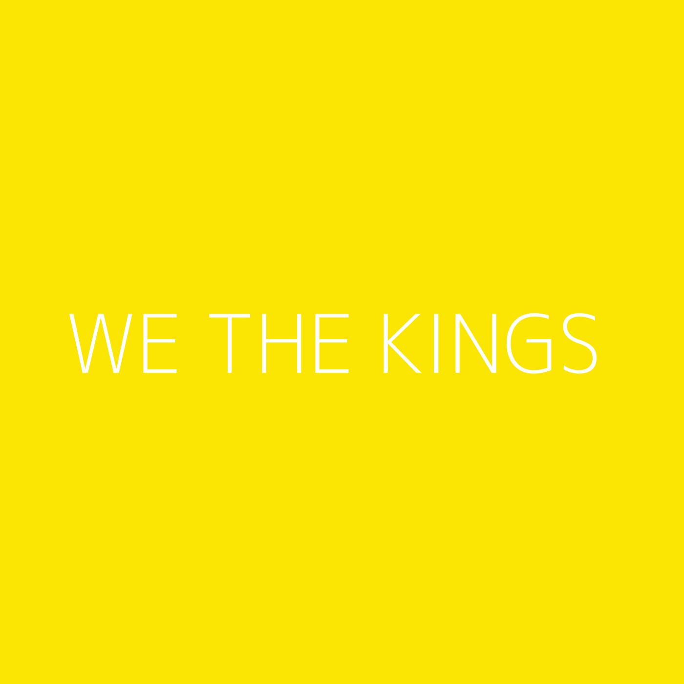 We The Kings Playlist Artwork