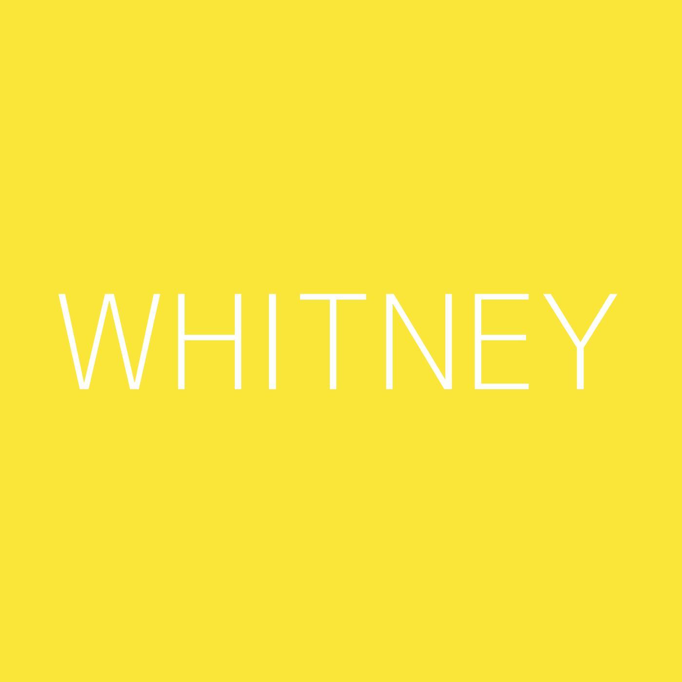 Whitney Playlist Artwork