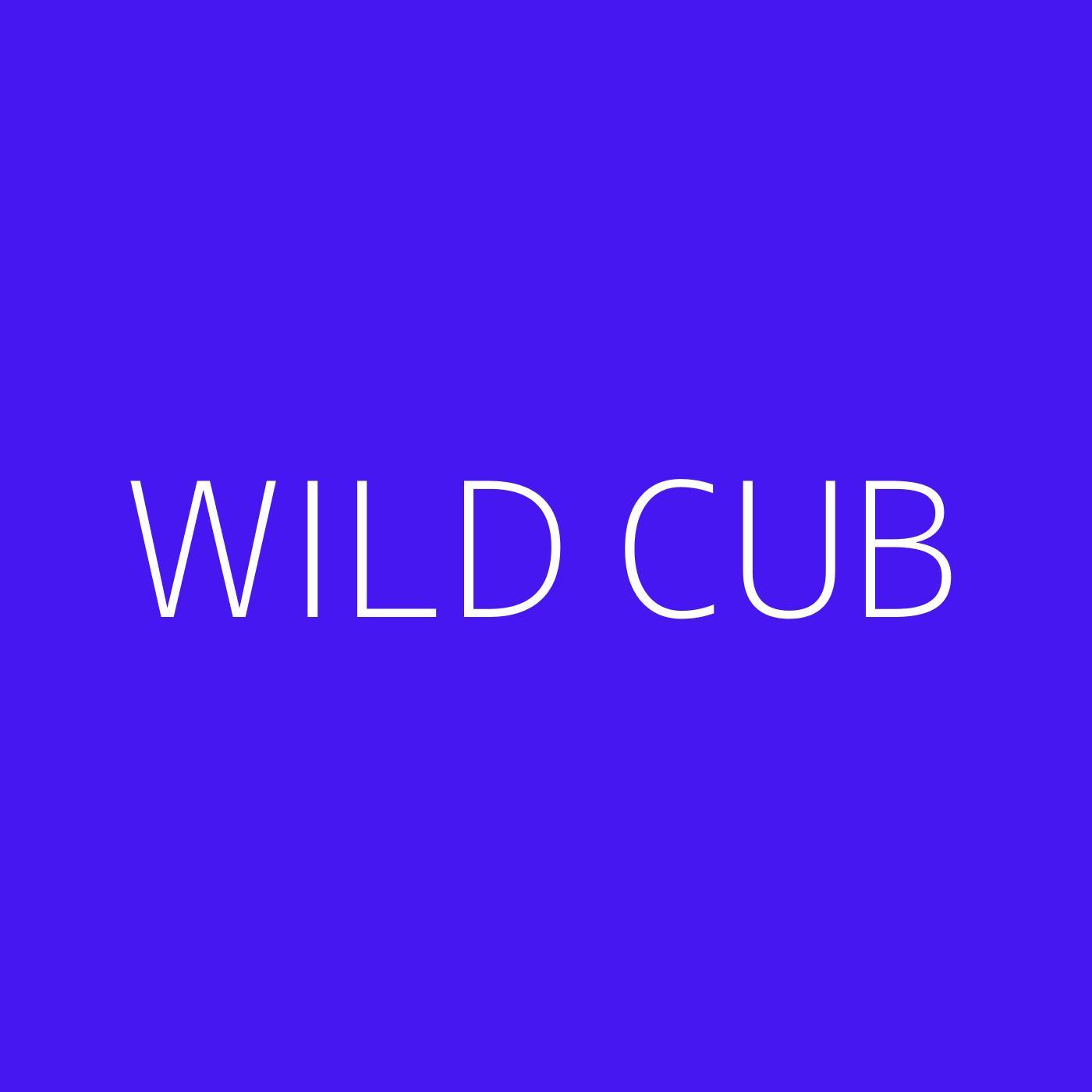 Wild Cub Playlist Artwork