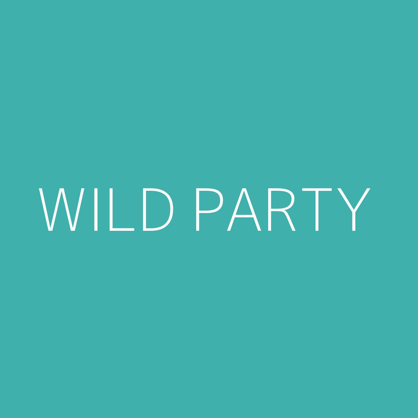 Wild Party Playlist Artwork