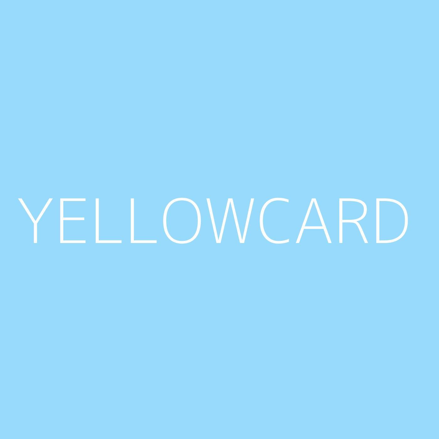 Yellowcard Playlist Artwork