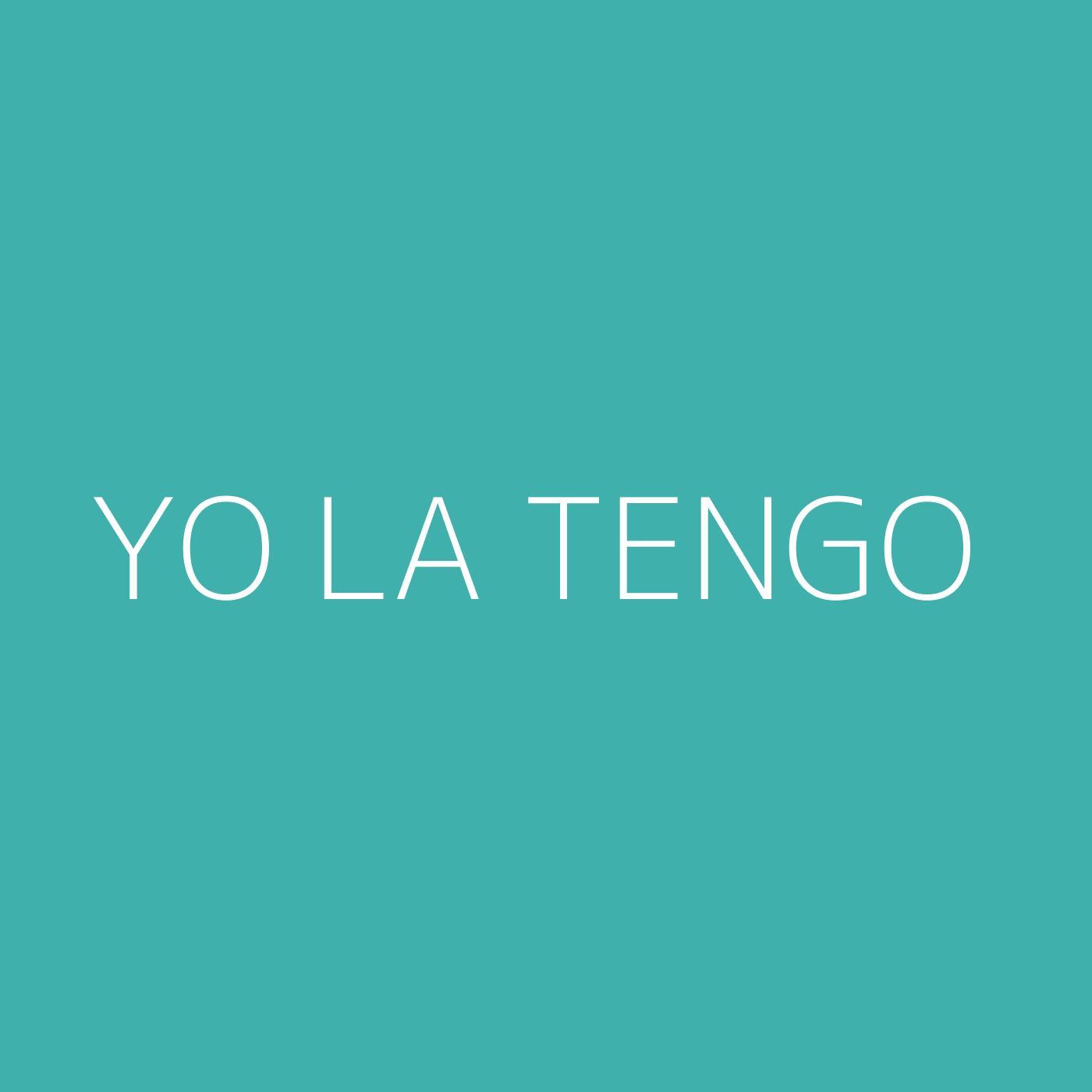 Yo La Tengo Playlist Artwork