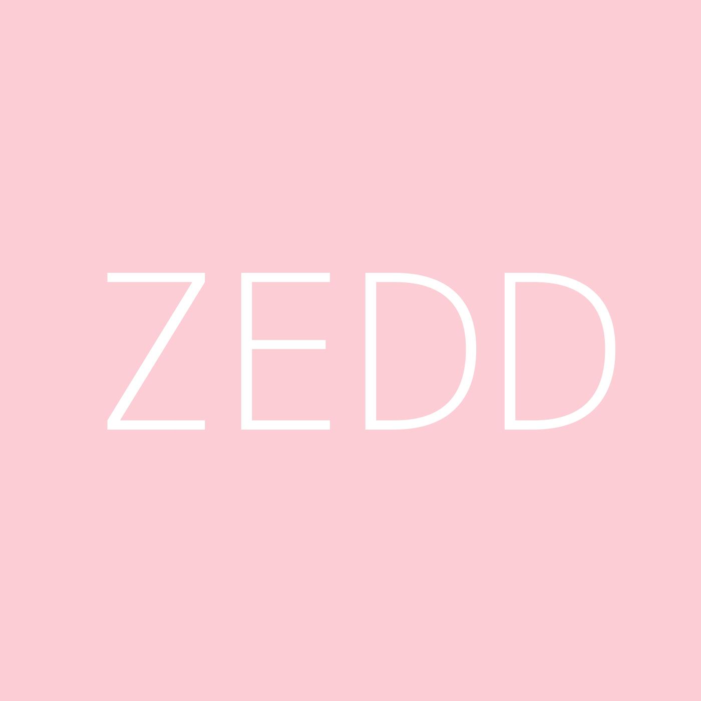 Zedd Playlist Artwork