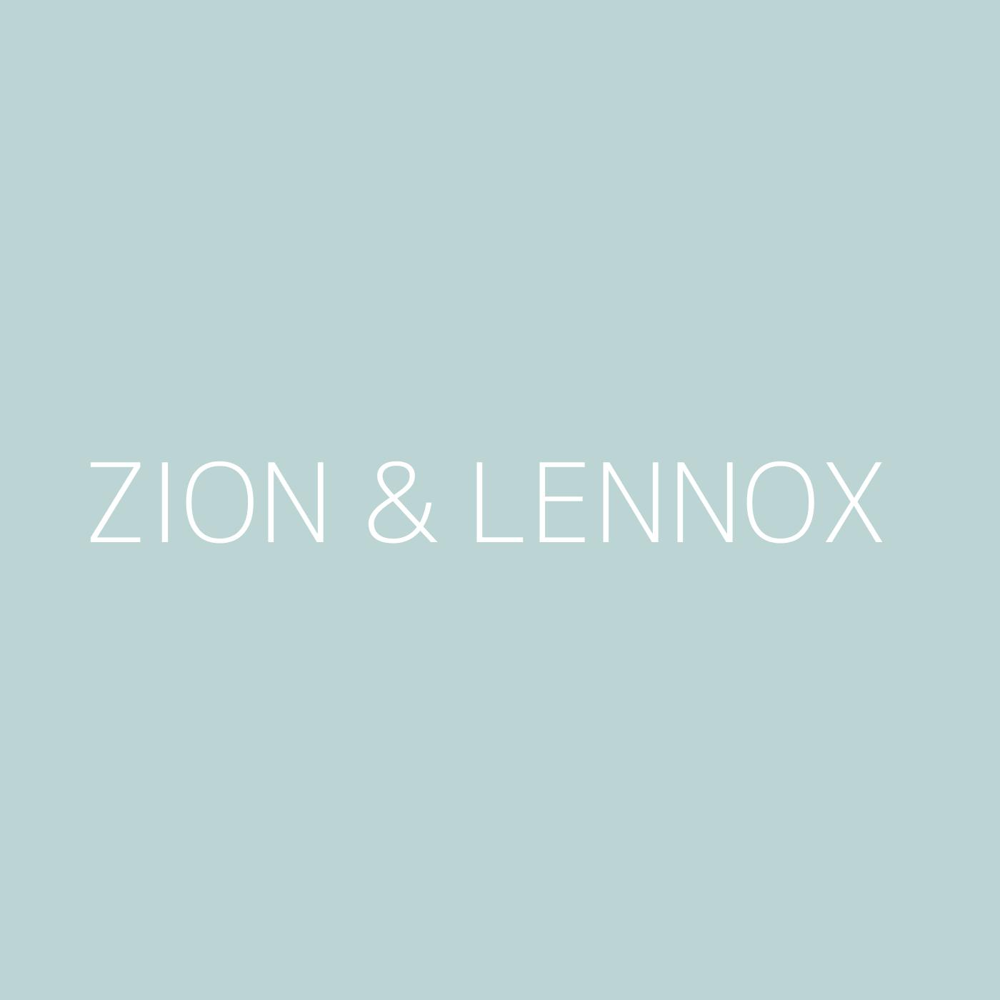 Zion & Lennox Playlist Artwork