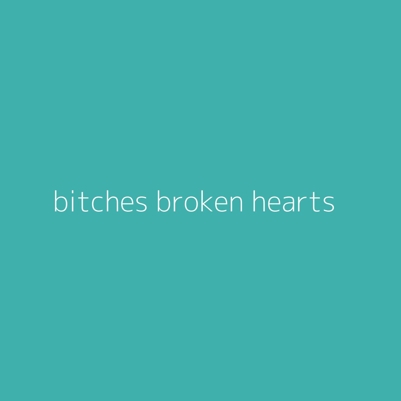 bitches broken hearts – Billie Eilish
