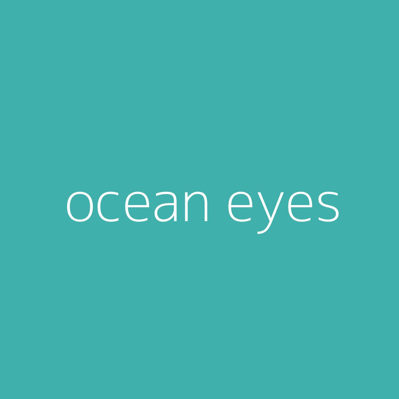 ocean eyes – Billie Eilish