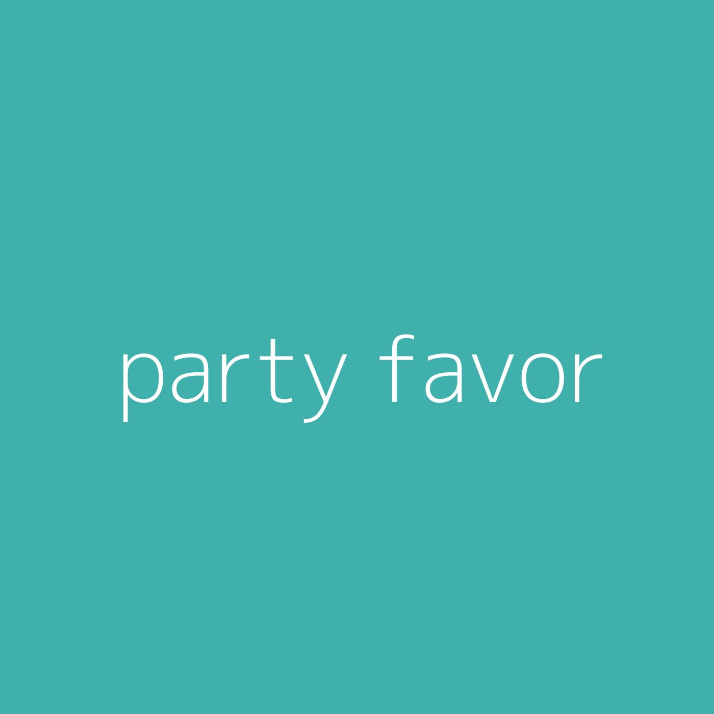 party favor – Billie Eilish